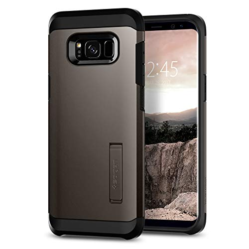 Spigen Tough Armor Designed for Samsung Galaxy S8 Case (2017) - Gunmetal