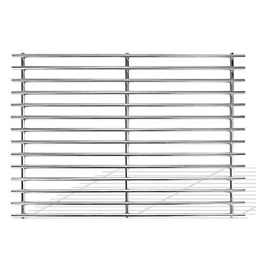 Uniflasy 17 Inches Stainless Steel Cooking Grid Grates Replacement for Charbroil 463250509, 463250510, Thermos 461262409, Grill Master 720-0737, 720-0670E, Vermont Castings, Great Outdoors Gas Grills