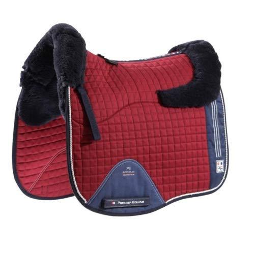 Premier Equine Schabracke Sports Wool European Dressage Square Größe Full, Farbe royal Blue