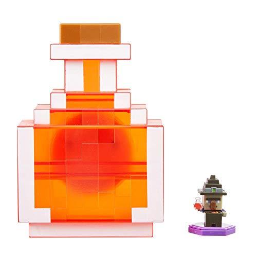 Minecraft -  Caja para Transportar Figuras de Juguete Boost Mini (Mattel GKT45)