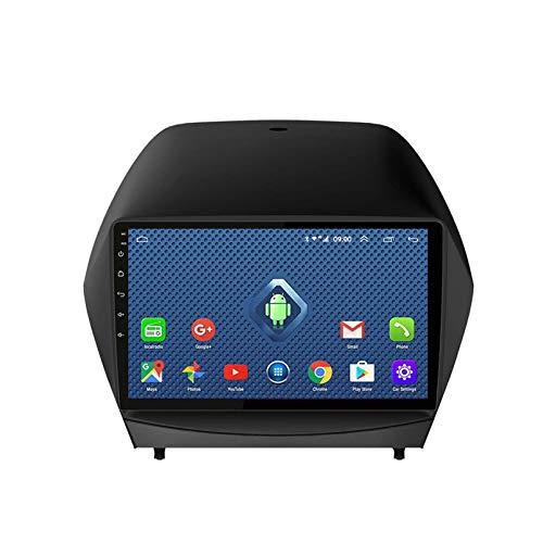 Android 8.1 Radio Para Automóvil Para Hyundai IX35 2010-2017 Estéreo Para Automóvil Navegación GPS Pantalla Táctil Reproductor Multimedia Para Automóvil Unidad(Size:cuatro nucleos,Color:4G+WIFi:2+32G)