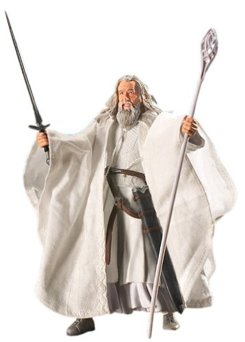 Lord of the Rings Gandalf the White Action Figure