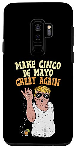 Galaxy S9+ Make Cinco De Mayo Great Again Trump Salt Meme Tequila Case