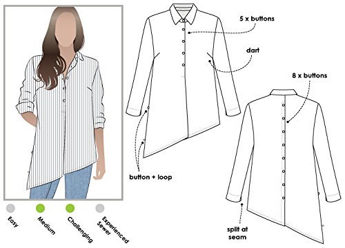 ARC Style Naaipatroon - Kristal Overhemd
