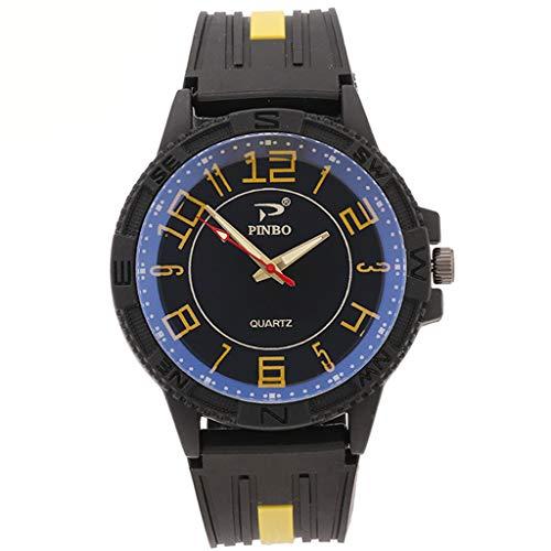 Preisvergleich Produktbild Herren Casual Digital Sportuhr mit Wasserdicht Alarm ahre Kalender Countdown Timer Stoppuhr 4563B 1650