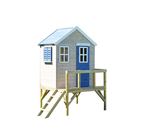 Wendi Toys M25B Gartenhaus Holz Kinder Holz  ...