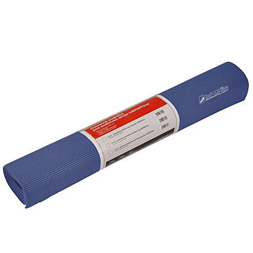 Bodenschutzmatte für Fitnessgeräte, Unterlegmatte, Yogamatte, Fitnessmatte blau Gr. 120x80cm, 160x80cm, 190x90cm (120 x 80 x 0,6)