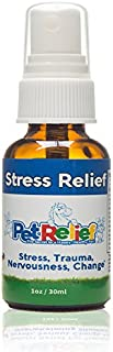 PET RELIEF Dog Stress Relief, Safe & Natural Calm Dog Relaxant Spray,! 30ml Non-Medicine Gentle Sedative For Dogs, Better Than Vet Bill, No Side Effects! Made In USA By