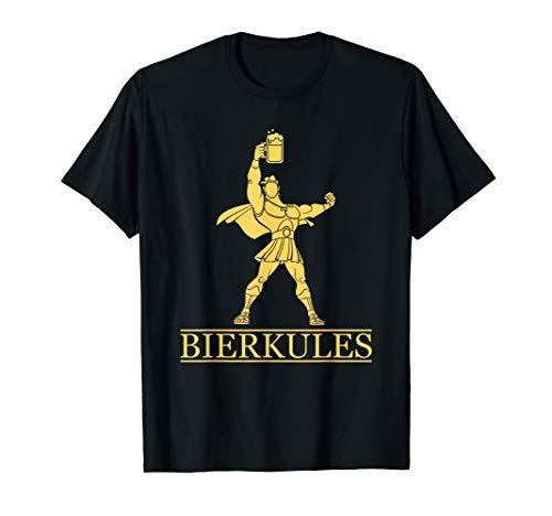 Bierkules - Herkules Mit Bier - Alkohol Geschenk T-Shirt