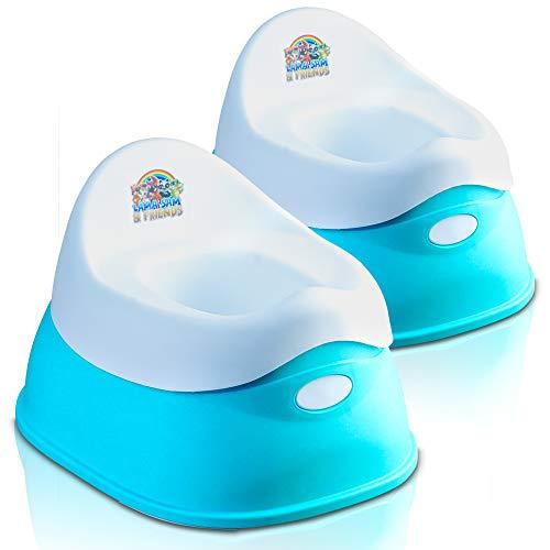Lama Sam & Friends – Vasino in plastica intelligente per neonati e bambini (acqua)
