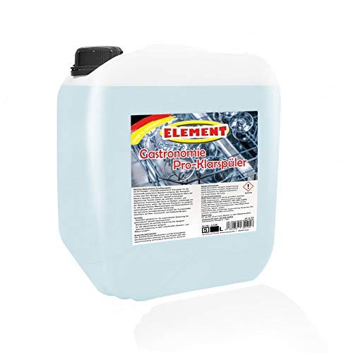 Klarspüler für gewerbliche Spülmaschinen flüssig 5 Liter Maschinenspülmittel Profi für gewerbliche Spülmaschinen Geschirrspülmittel Maschinenklarspüler