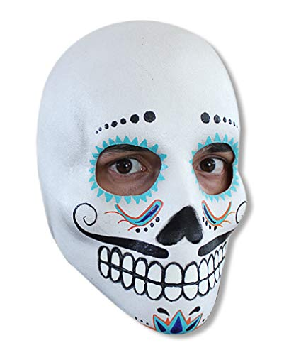 Horror-Shop Jour du crâne mort Masque Deluxe