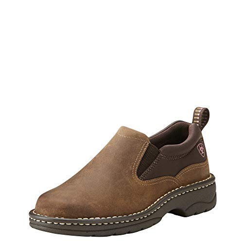 ARIAT womens Traverse Western Boot, Distressed Brown, 8.5 US