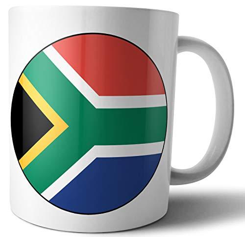 Südafrika – Südafrikanische Flagge – Tee – Kaffee – Tasse – Tasse – Geburtstag – Weihnachten – Geschenk – Secret Santa – Strumpffüller