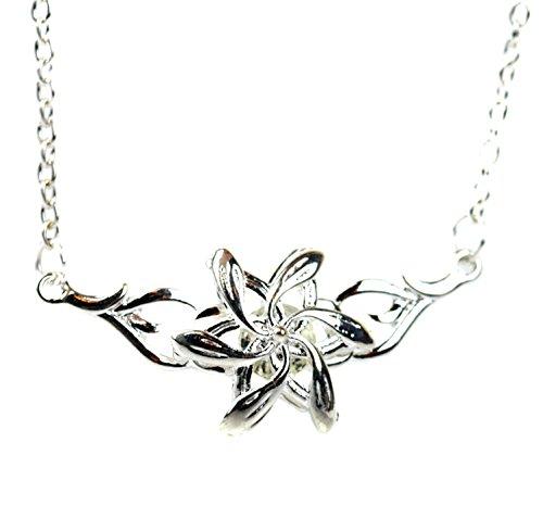 Elfos Galadriel Reina Flor Colgante Collar de Plata El Señor de los Anillos El Hobbit LOTR