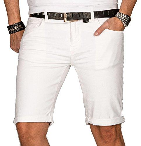 Indicode heren zomer jeans shorts korte broek zomerbroek shorts bermuda B556a