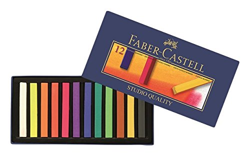 Faber-Castell Pastellkreide Goldfaber Studio Soft VE=12 Stück