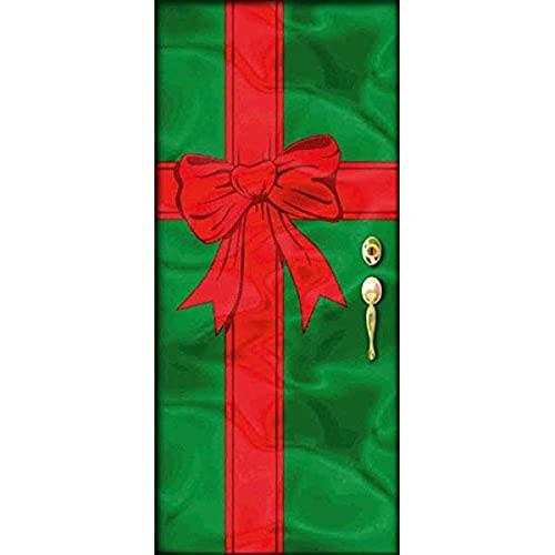Amscan 243455 Festive Christmas Door Foil Party Decoration 1 piece