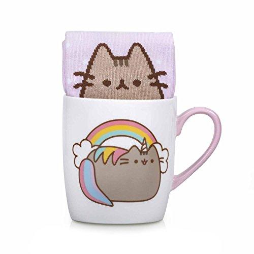 Thumbs Up! Unicorno Una Calza in Una Tazza, Ceramica, Multicolore