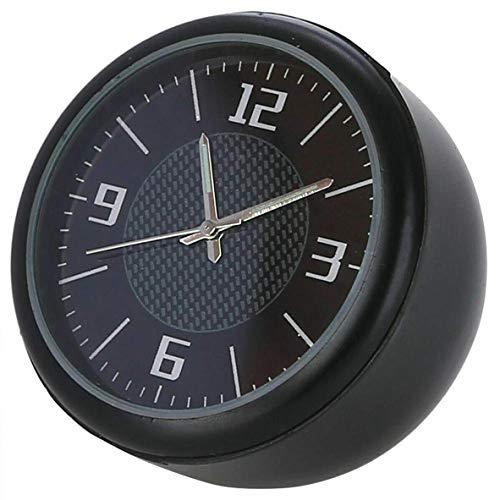 Sepikey Oldtimer kleine runde Quarzuhr Auto Uhr Armaturenbrett Air Vent Tisch