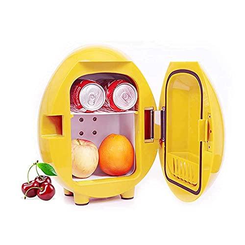 XBYUNDING Nevera portátil Linda Mini Nevera 4liter portátil C.A/Calentador de refrigerador Alimentado, refrigerador cosmético pequeño, Mudo, Utilizado para Maquillaje y Cuidado de la Piel a los Amigo