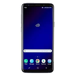 Samsung Galaxy S9+, 64GB, Coral Blue - Fully Unlocked (Renewed)