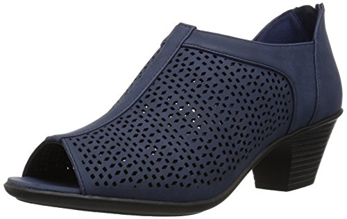 Easy Street Women's Steff Ankle Boot, Navy, 8 M US