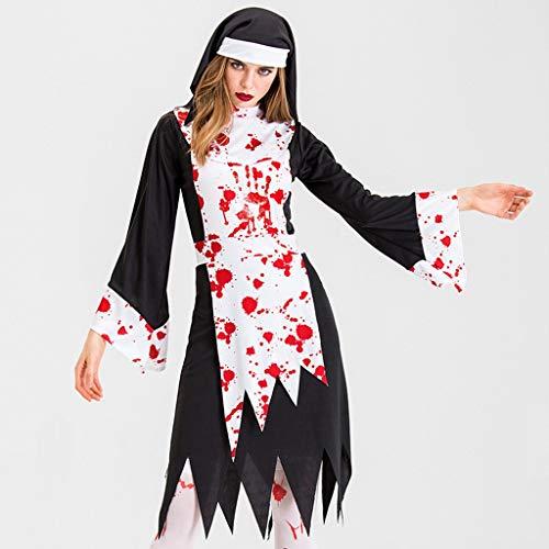 Women Halloween Ladies Carnival Makeup Party Costume Horror Bloody Zombie Dress -  Xia&Han, IE212KUF