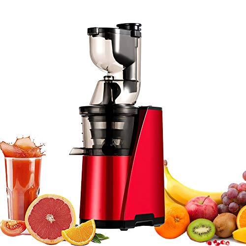 Exprimidor Naranjas Eléctrico,Exprimidor de boca ancha,Exprimidor centrífugo de frutas y verduras enteras,...