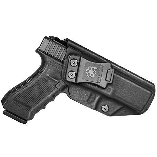 Amberide IWB KYDEX Holster Compatible with Glock 17 Gen(3-5)...