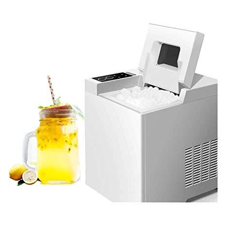 WANGIRL Aufsatz Eiswürfelmaschine 15 kg Eiswürfel pro Tag Produktionszeit 2 Eiswürfelgrößen Wasserstandsanzeige Zuhause