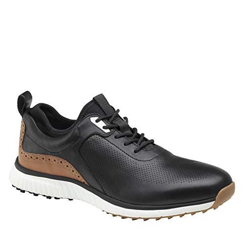 Johnston & MurphyMen'sXC4 H1-Luxe HybridGolf Shoes|Waterproof Leather| Lightweight |Memory-FoamCushioning
