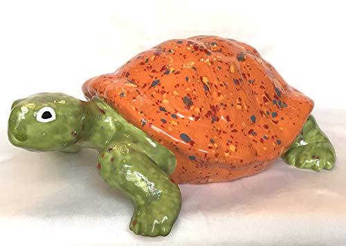 Schildkröte Keramik, Handarbeit, Gartendekoration, Unikat - Geschenk