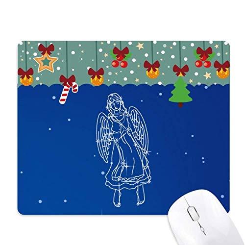 Star Universe Jungfrau Konstellation Muster Mauspad Spiel Büro Matte Weihnachten Gummi Pad