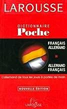 Larousse Dictionnaire Francais - Allemand - Allemand Francais (Poche)