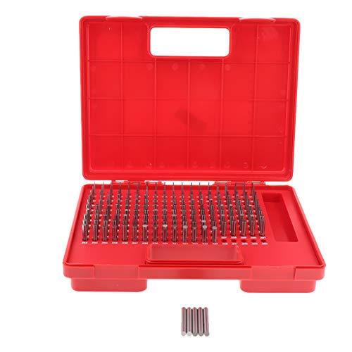 kesoto 190er Pin Gauge Set Präzisionsstahl M1 + 0.061-0.250 Zoll Präzisionsmessung