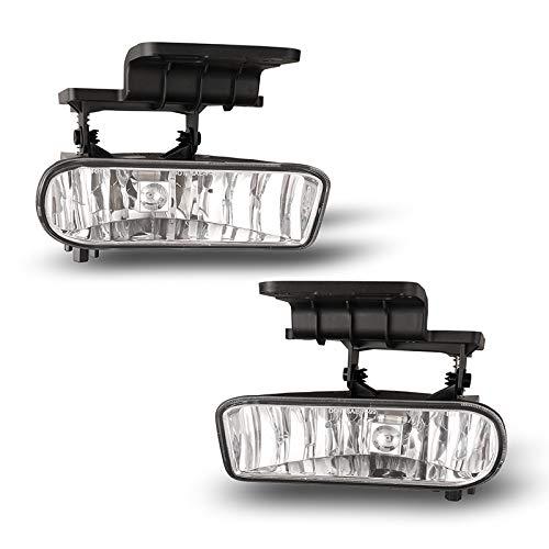 Winjet OEM Series for Chevy [1999-2002 Silverado] [2000 2001 2002 2003 2004 2005 2006 Suburban/Tahoe] Driving Fog Lights
