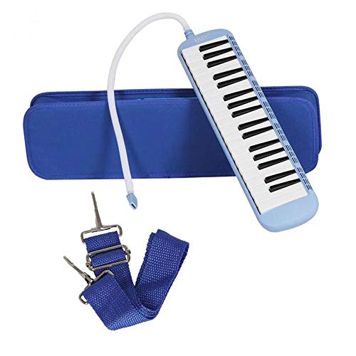 New Colorful 32/37 Piano Style Keys Melodica With Hard Storage Case Children Students Musical Instru...