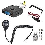 BJ-218 Mini Dual Band Car Radio FM ricetrasmettitore 25W ad alta potenza Walkie Talkie Radio Team Group chiamata mobile audio