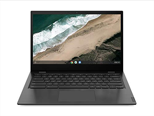 Lenovo Chromebook S345 - Portátil 14' FullHD (AMD A6-9220C, 4GB RAM, 64GB eMMC, AMD Radeon Graphics, Chrome OS), Color Gris - Teclado QWERTY español