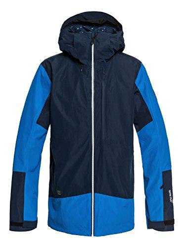Quiksilver Men's Forever 2L Gore-TEX Snow Jacket, Dress Blues, XS