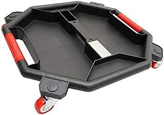 ツールクリーパー キャスター付き 大型 ツールトレイ 工具トレイ パーツトレー 移動式トレイ パーツ入れ 工具入れ 薄型 軽量 TTC-01