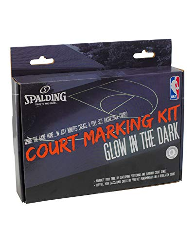 Spalding Basketball Court Marking Kit ~ Glow in The Dark Bundle