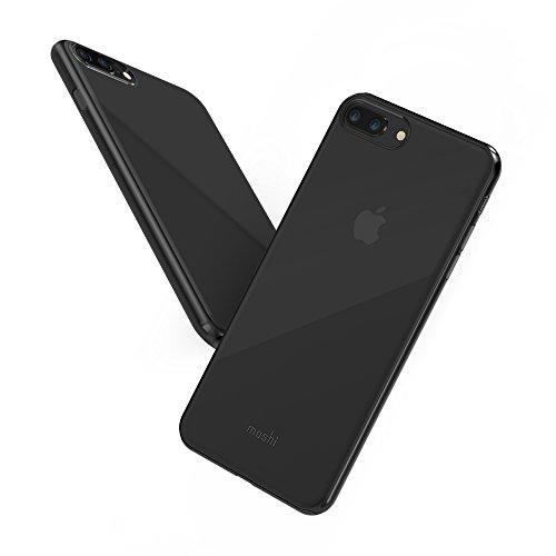 Moshi Superskin - Funda para iPhone 8 Plus/7 Plus, Color Negro
