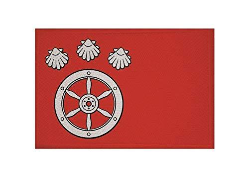 U24 Aufnäher Hanau OT Großauheim Fahne Flagge Aufbügler Patch 9 x 6 cm