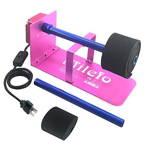 MiLefo Cup Turner Spinner for Tumblers/Glass/Mug/Bottle Craft, Metal Cup Rotator for Epoxy, Resin Tumbler Turner Machine Beginner Kit