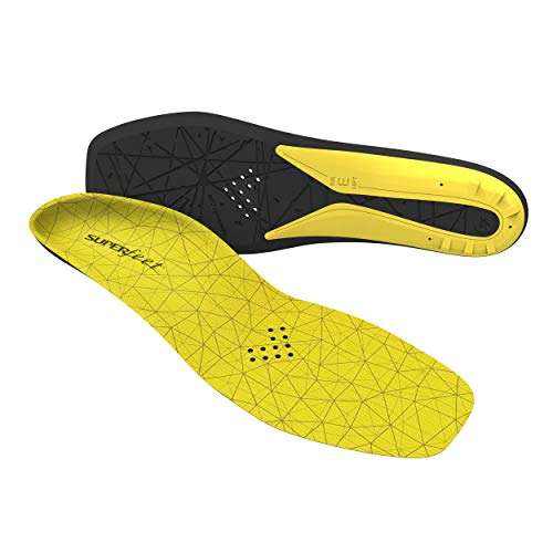 Superfeet Hockey Comfort Insoles for Orthotic Support and Cushion in...