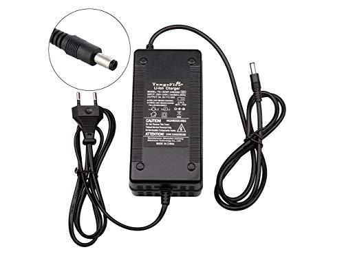TangsFire 48V Li-Ion Cargador de batería 54.6V 2.5A para Paquete eléctrico Scooter de Litio Ebike 13S Baterías DC5.5 * 2.1MM Conector