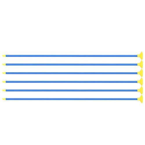 Tbest Flecha de lechón 6 Piezas de Flechas de Ventosa para Niños,6 Piezas Creativas niños lechón Flechas para Tiro con Arco Arco Juvenil Deportes al Aire Libre Juego de Disparos Juguete