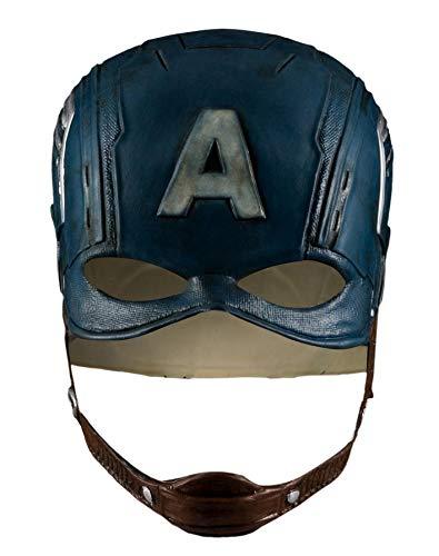 Captain America Helmet,Captain America Mask,Avengers Captain America Mask Helmet for Men Navy Blue